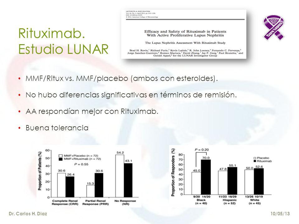 Rituximab. Estudio LUNAR