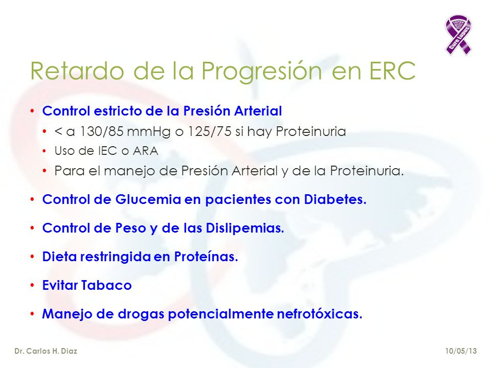 Retardo de la Progresión en ERC