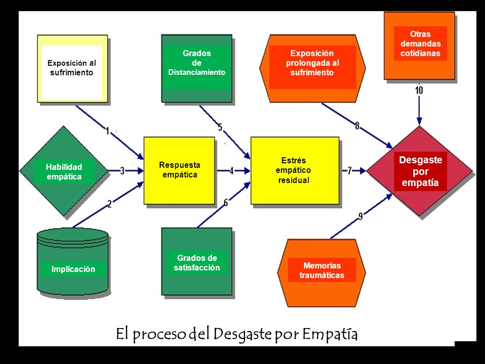 El proceso del Desgaste por Empatía