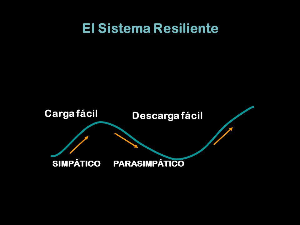 El Sistema Resiliente Carga fácil Descarga fácil PARASIMPÁTICO
