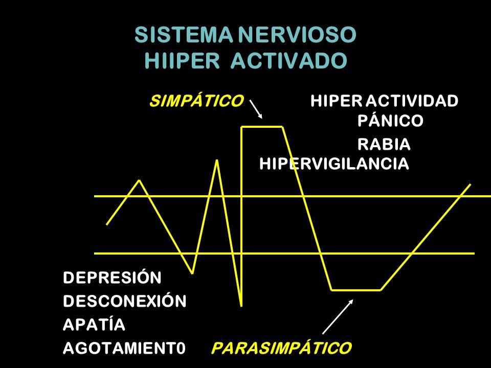 SISTEMA NERVIOSO HIIPER ACTIVADO