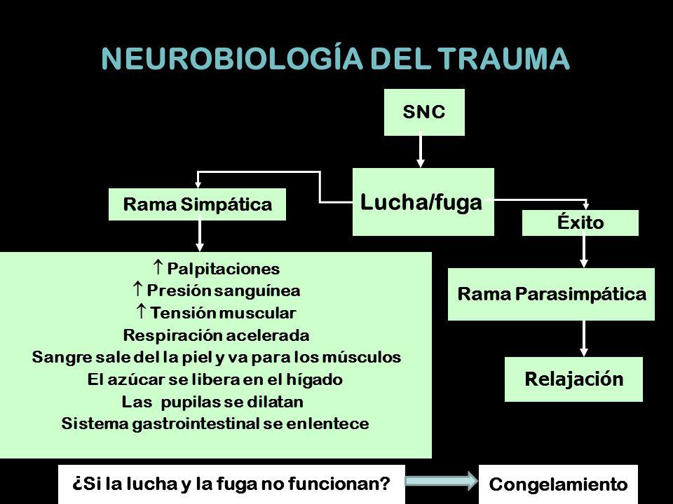 NEUROBIOLOGÍA DEL TRAUMA
