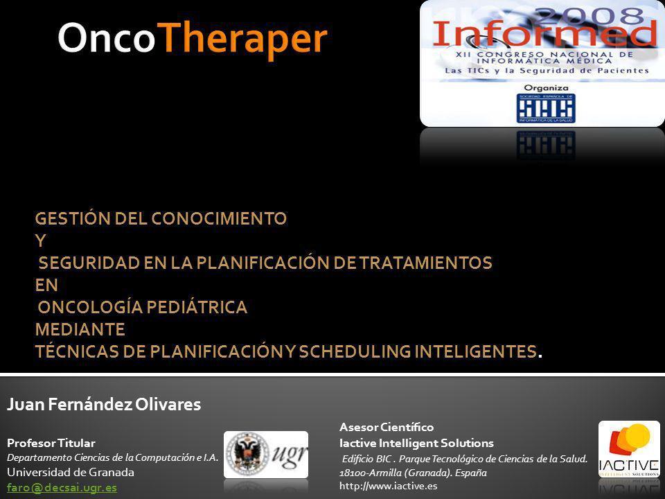 OncoTheraper GESTIÓN DEL CONOCIMIENTO Y