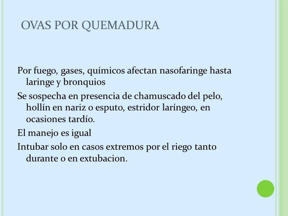 OVAS POR QUEMADURA