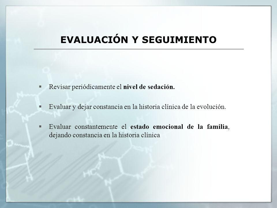 EVALUACIÓN Y SEGUIMIENTO