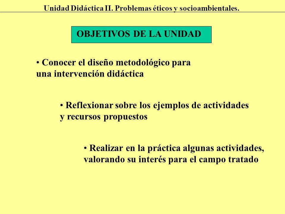 Conocer el diseño metodológico para una intervención didáctica