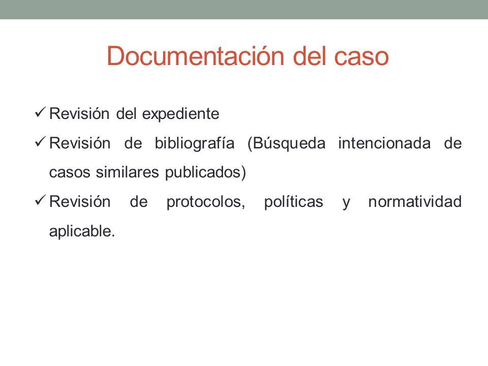 Documentación del caso