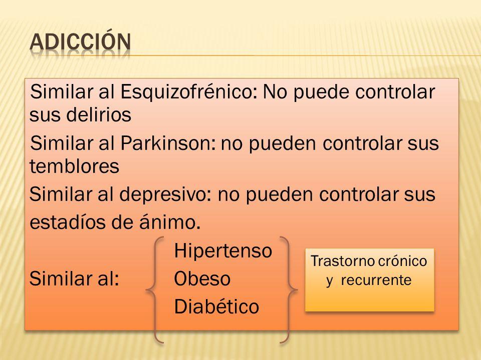 Trastorno crónico y recurrente