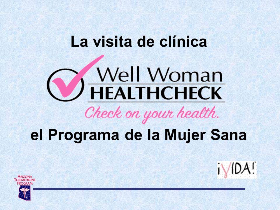 el Programa de la Mujer Sana
