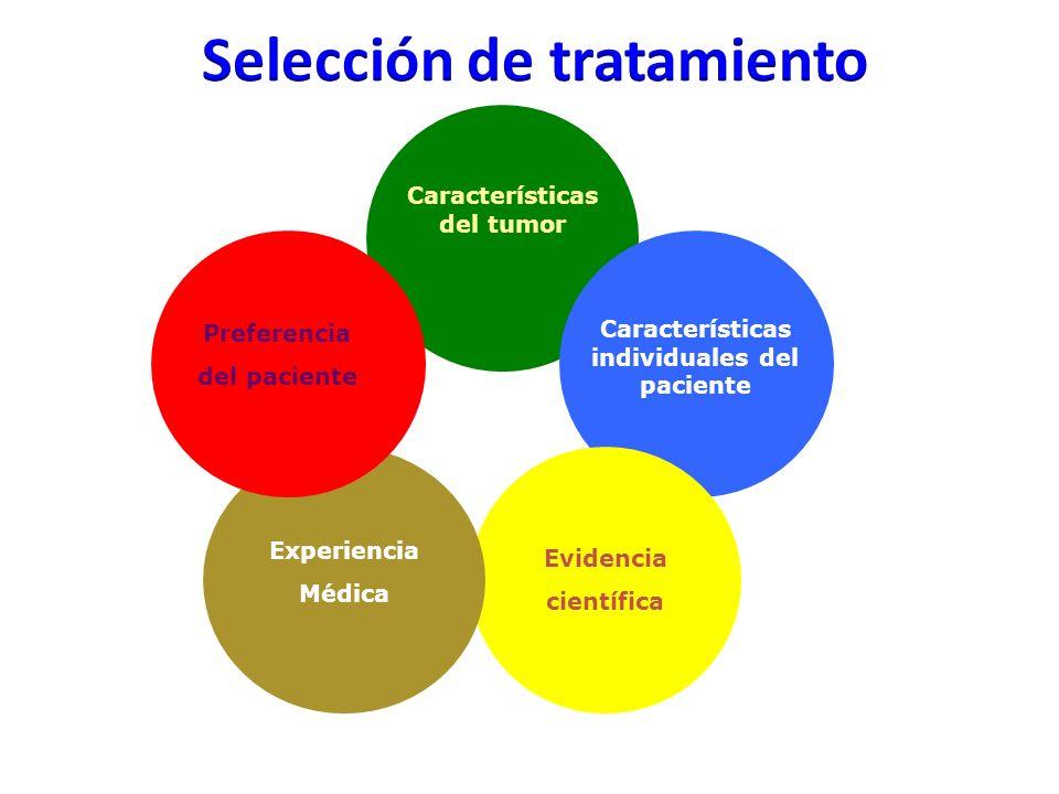 Selección de tratamiento