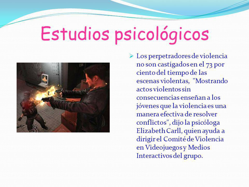 Estudios psicológicos
