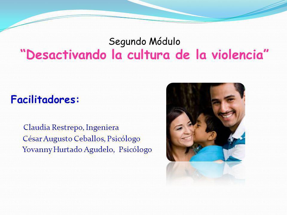 Segundo Módulo Desactivando la cultura de la violencia