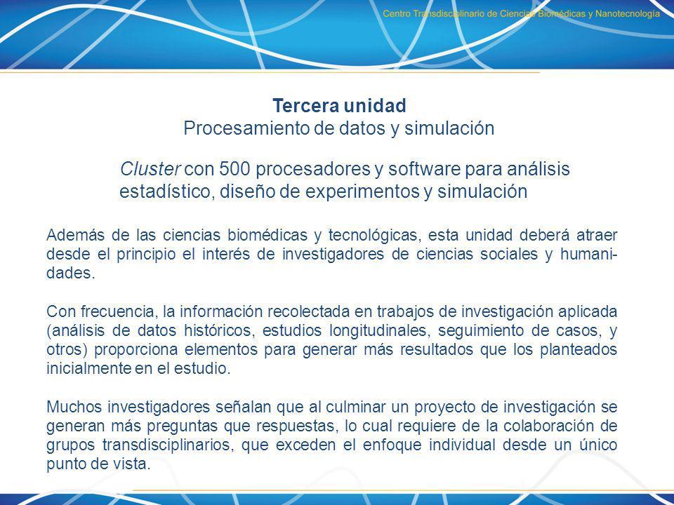 Procesamiento de datos y simulación