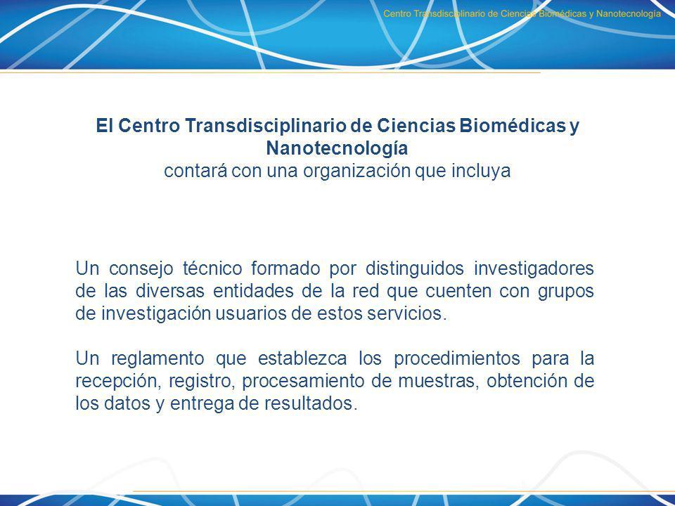 El Centro Transdisciplinario de Ciencias Biomédicas y Nanotecnología