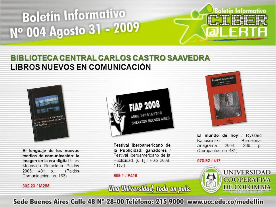 BIBLIOTECA CENTRAL CARLOS CASTRO SAAVEDRA