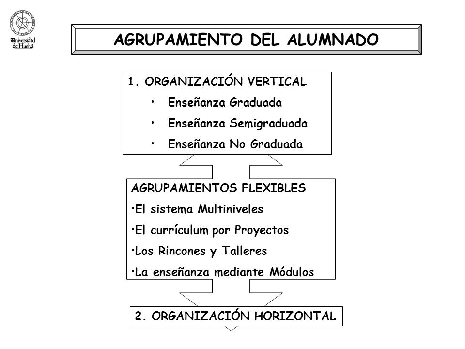 AGRUPAMIENTO DEL ALUMNADO
