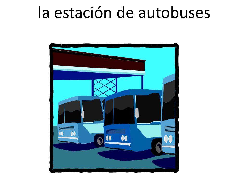 La la estación de autobuses de autobuses