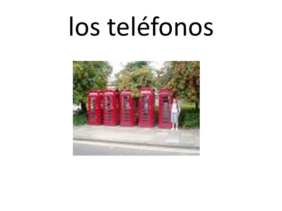 los teléfonos