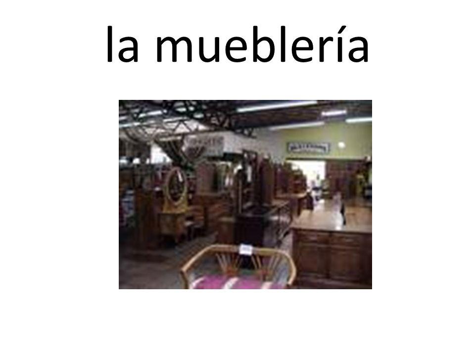 la mueblería