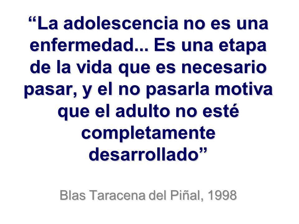 La adolescencia no es una enfermedad