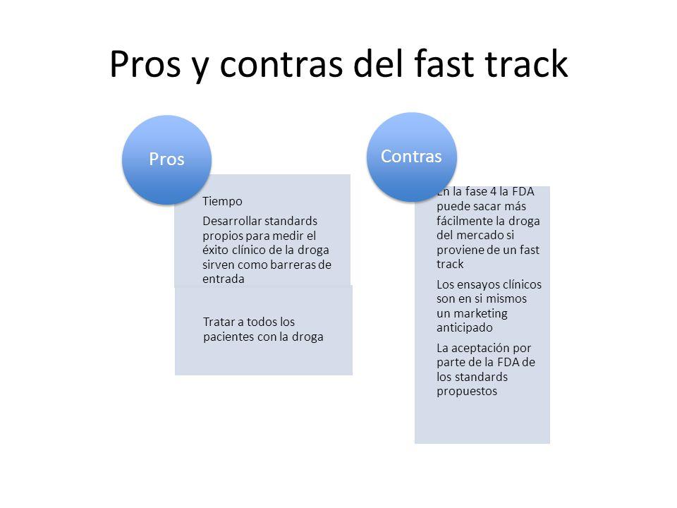 Pros y contras del fast track