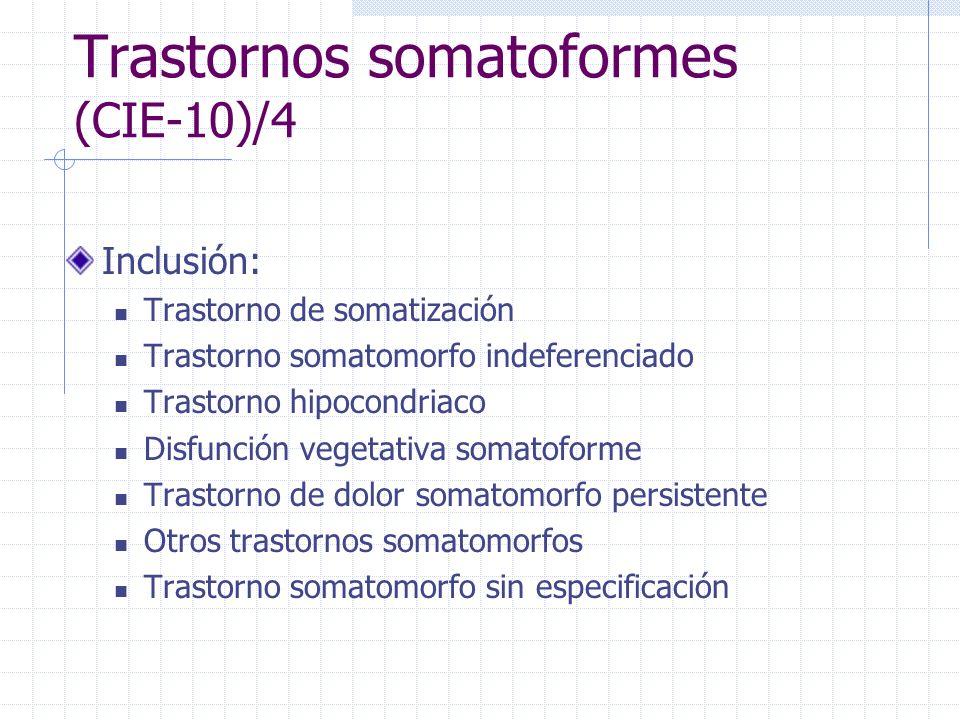 Trastornos somatoformes (CIE-10)/4