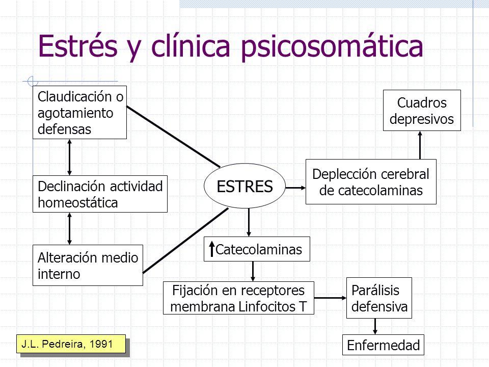 Estrés y clínica psicosomática