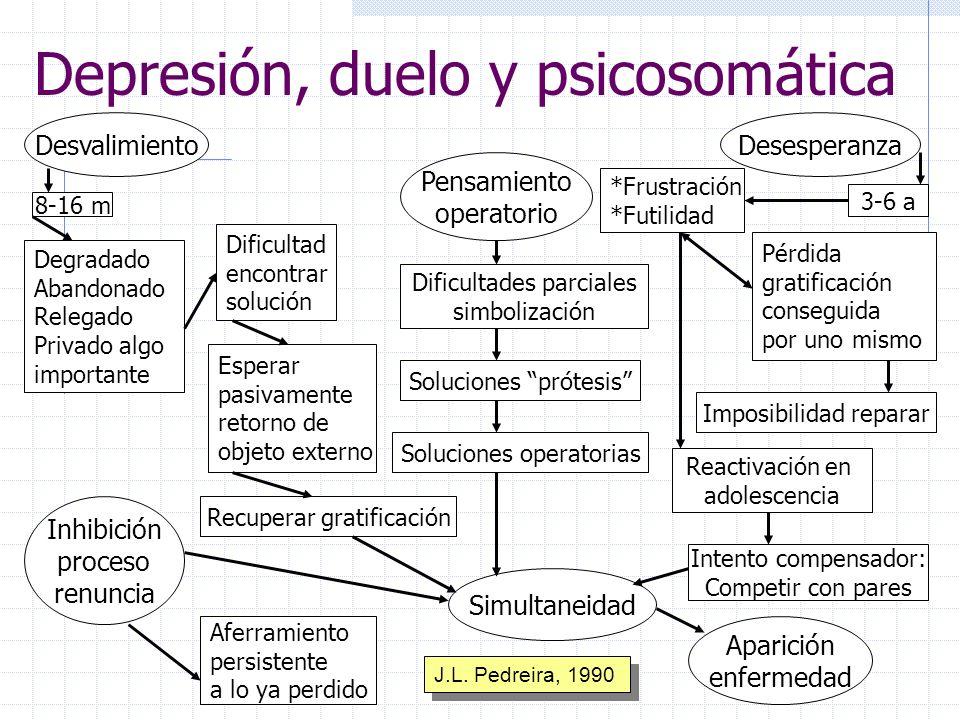 Depresión, duelo y psicosomática