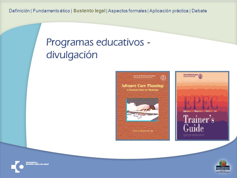 Programas educativos - divulgación