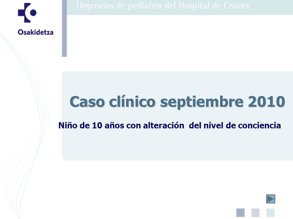 Caso clínico septiembre 2010