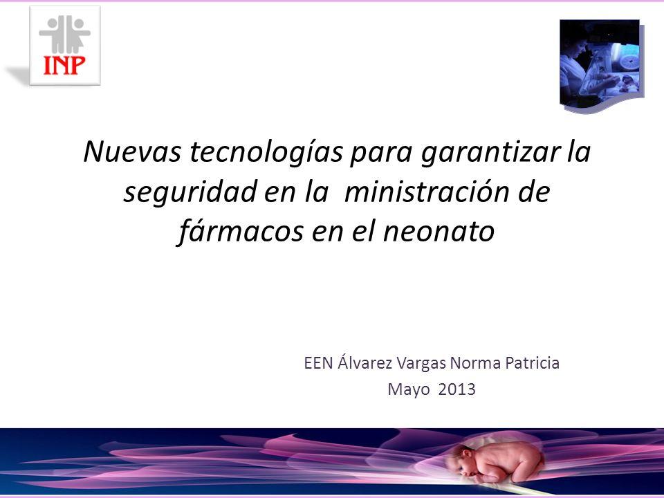 EEN Álvarez Vargas Norma Patricia Mayo 2013