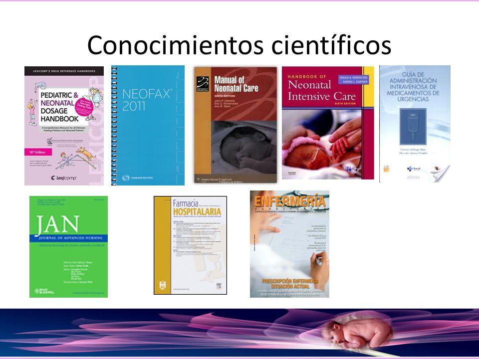 Conocimientos científicos