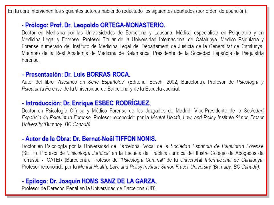 Prólogo: Prof. Dr. Leopoldo ORTEGA-MONASTERIO.