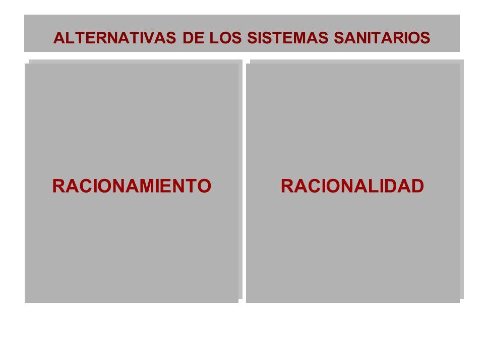 ALTERNATIVAS DE LOS SISTEMAS SANITARIOS
