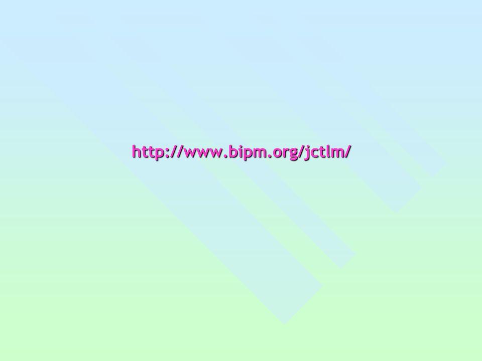 http://www.bipm.org/jctlm/