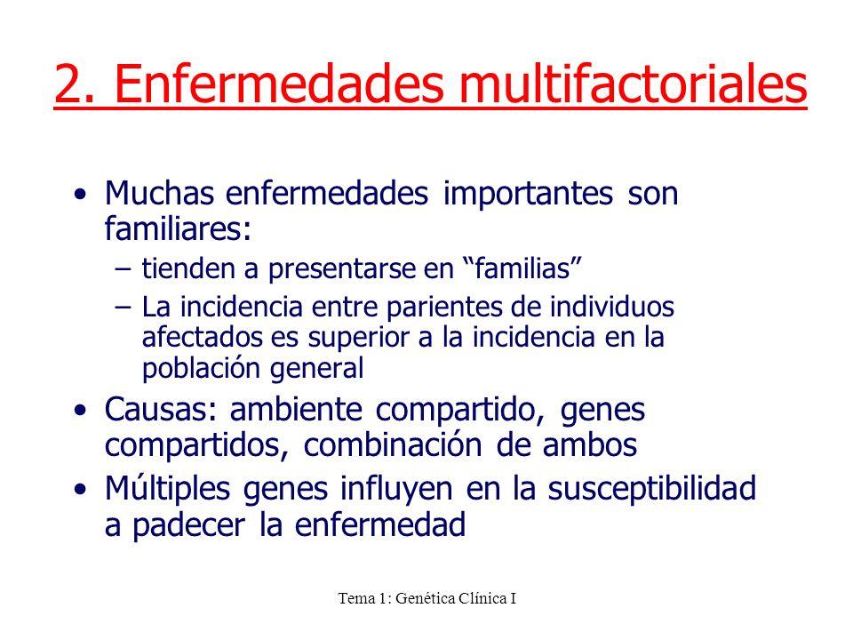 2. Enfermedades multifactoriales