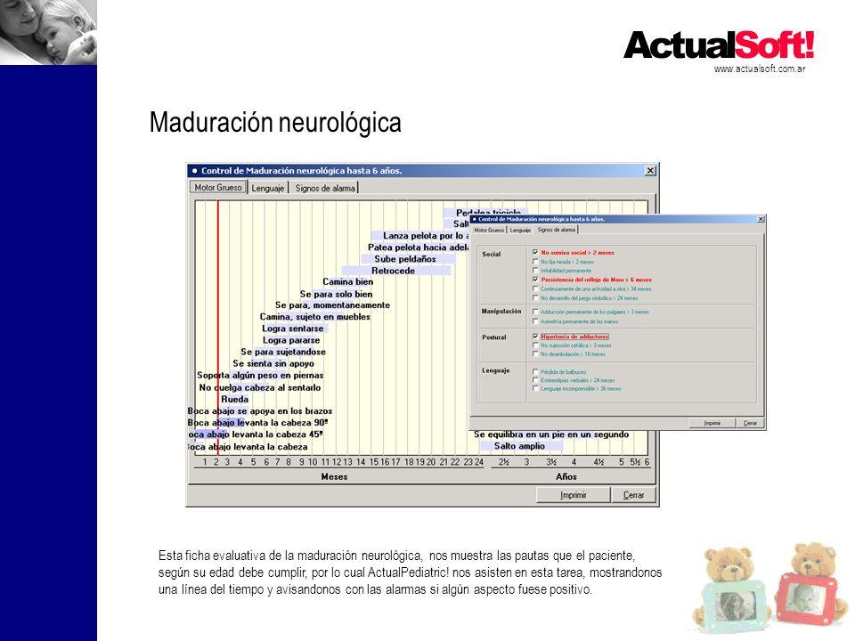 Maduración neurológica