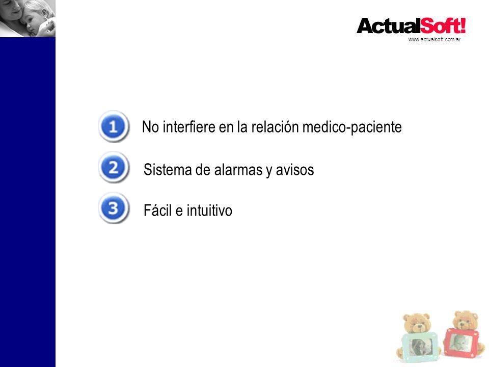 No interfiere en la relación medico-paciente