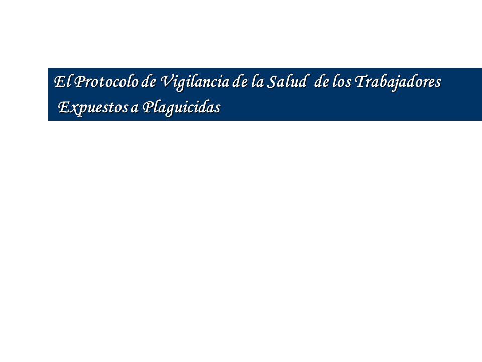 El Protocolo de Vigilancia de la Salud de los Trabajadores