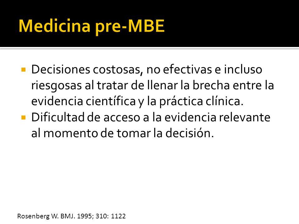 Medicina pre-MBE