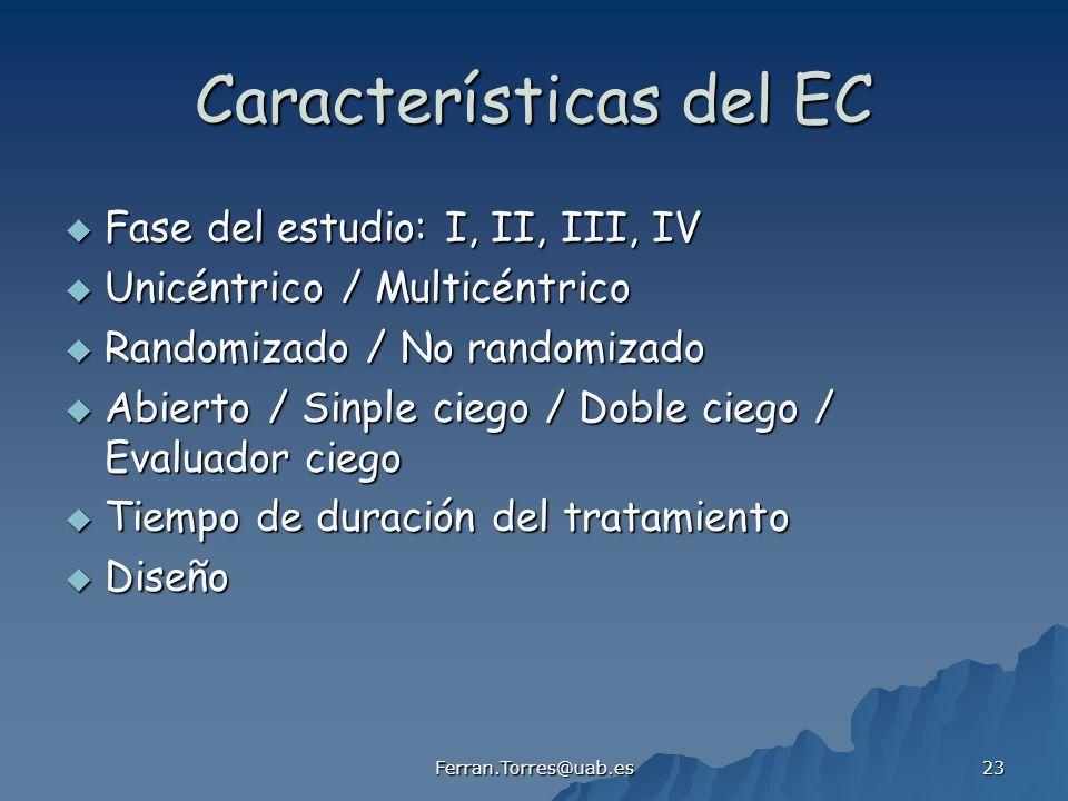 Características del EC