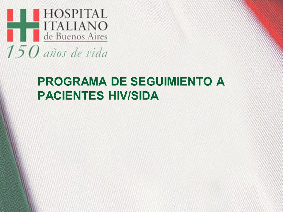 PROGRAMA DE SEGUIMIENTO A PACIENTES HIV/SIDA