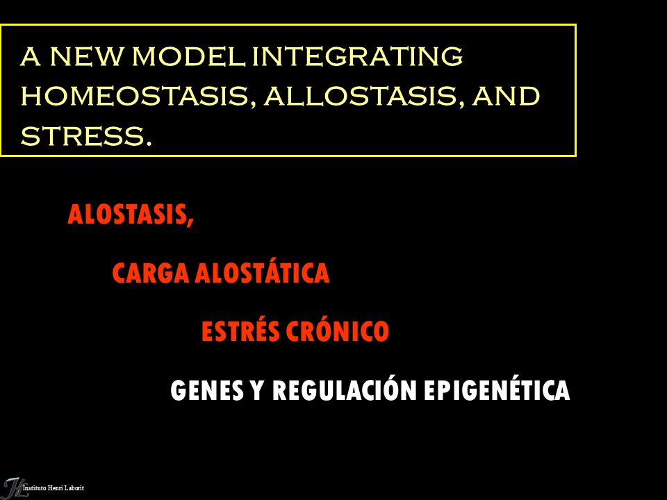 a new model integrating homeostasis, allostasis, and stress.