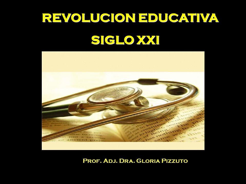 REVOLUCION EDUCATIVA SIGLO XXI Prof. Adj. Dra. Gloria Pizzuto