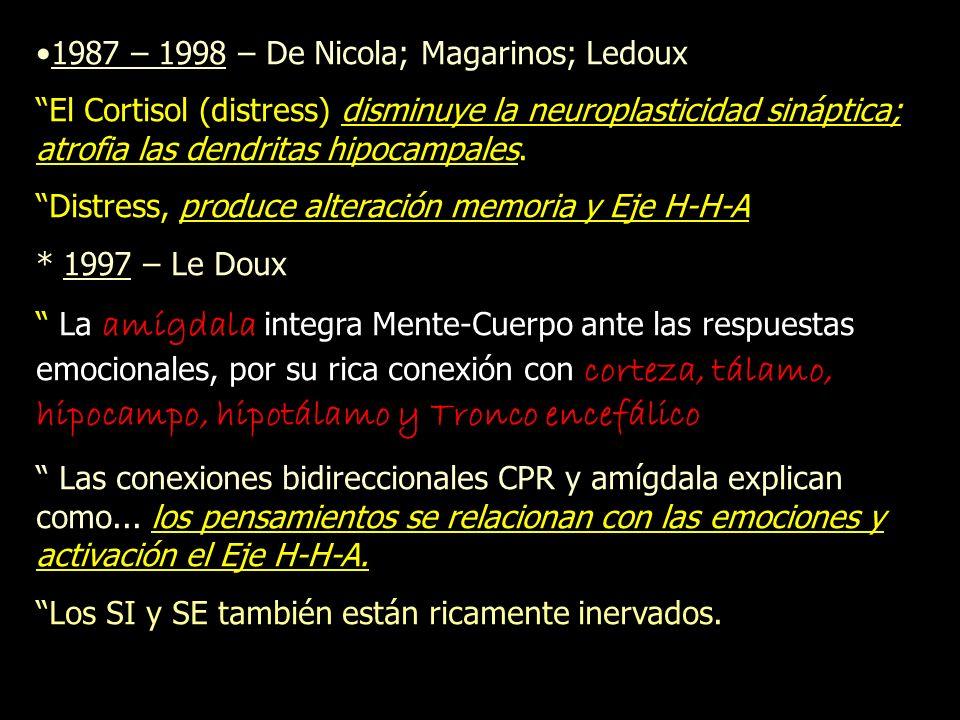 1987 – 1998 – De Nicola; Magarinos; Ledoux