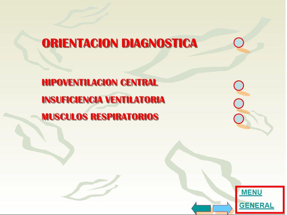 ORIENTACION DIAGNOSTICA