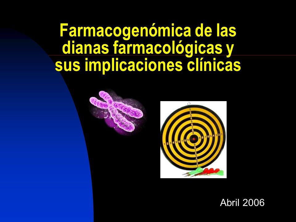 Farmacogenómica de las dianas farmacológicas y sus implicaciones clínicas