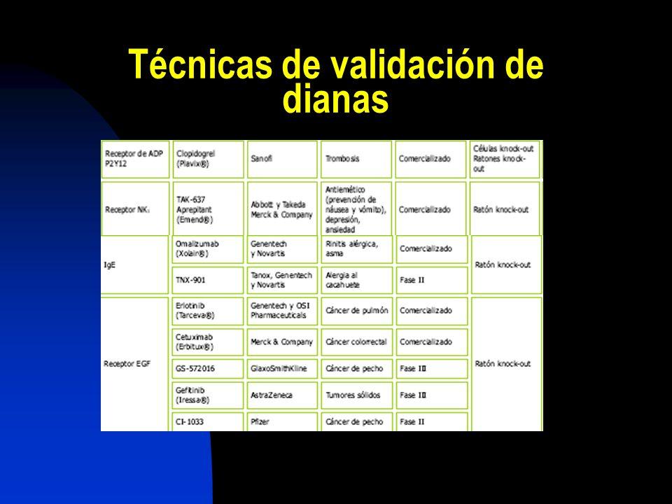 Técnicas de validación de dianas