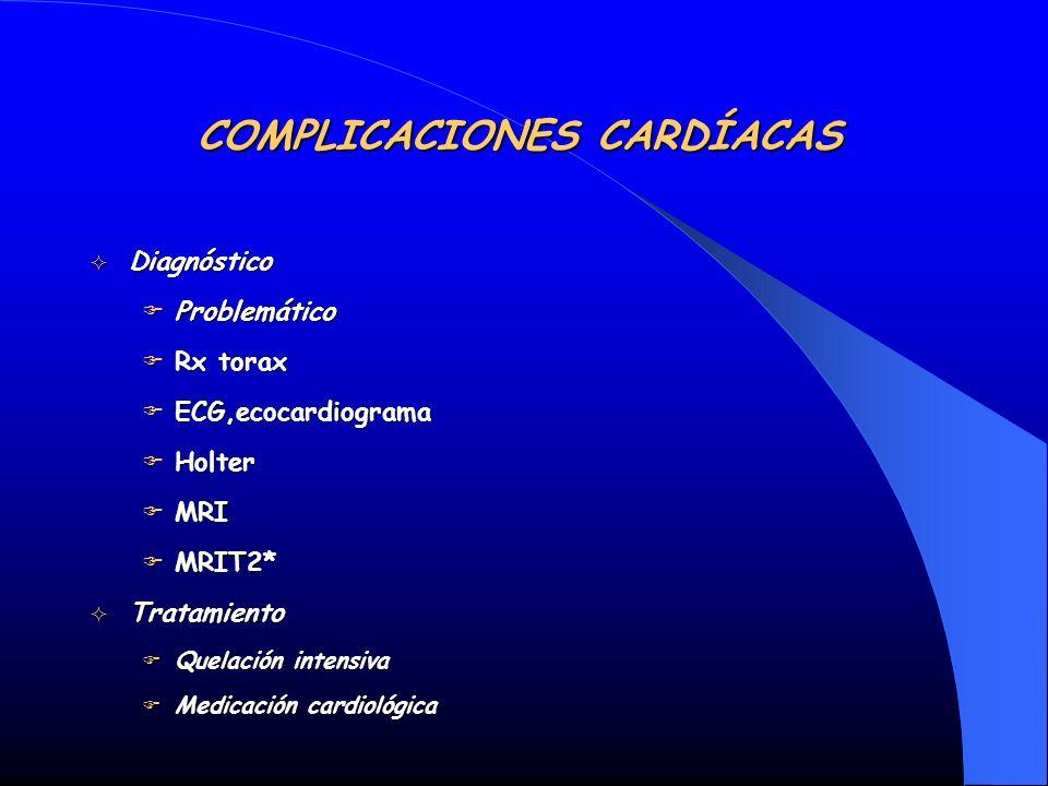 COMPLICACIONES CARDÍACAS