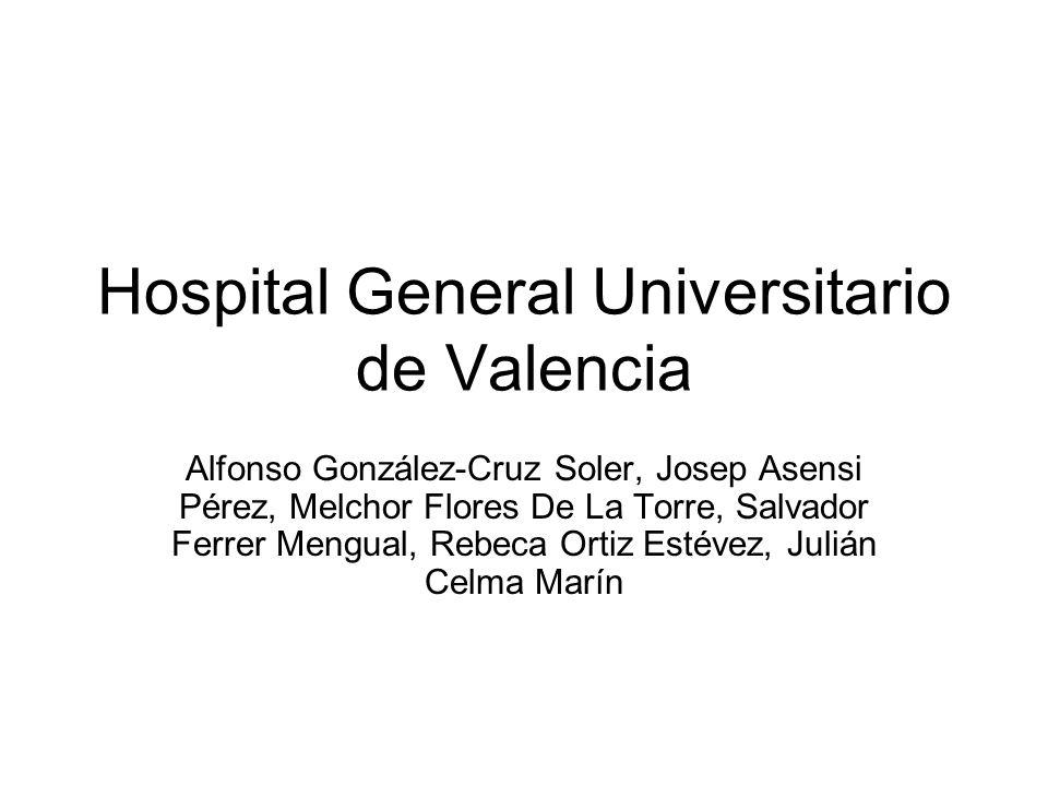 Hospital General Universitario de Valencia